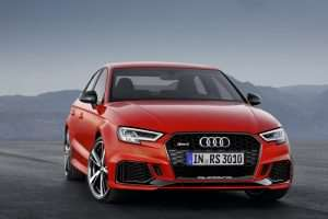 Audi RS3 Saloon Costs £45,250