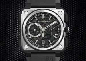 Limited Edition Bell & Ross BR-X1 Black Titanium Watch Unveiled For $18,600