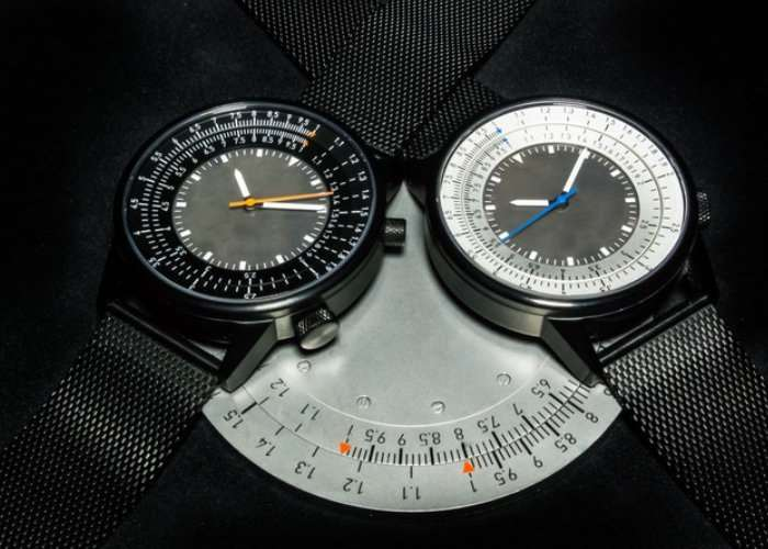 Caliper Slide Rule Watch