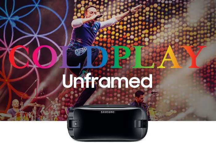 Coldplay Tour Broadcast Live In VR
