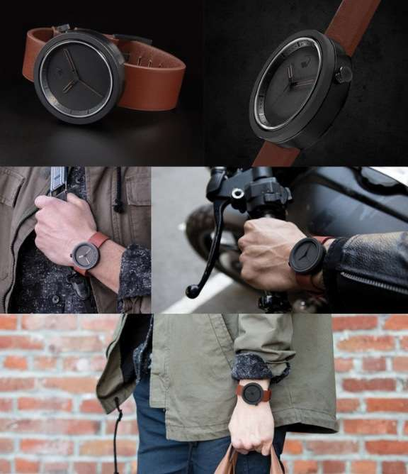 Concrete watch