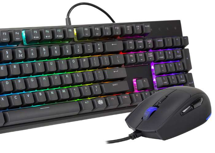 Cooler Master MasterSet MS120 Gaming Set With Mem-Chanical Switches