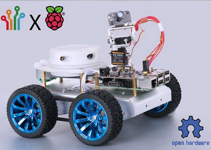 CrazyPi DIY Robot Kit And Development Board