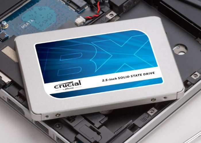 Crucial BX300 Solid-State Drive