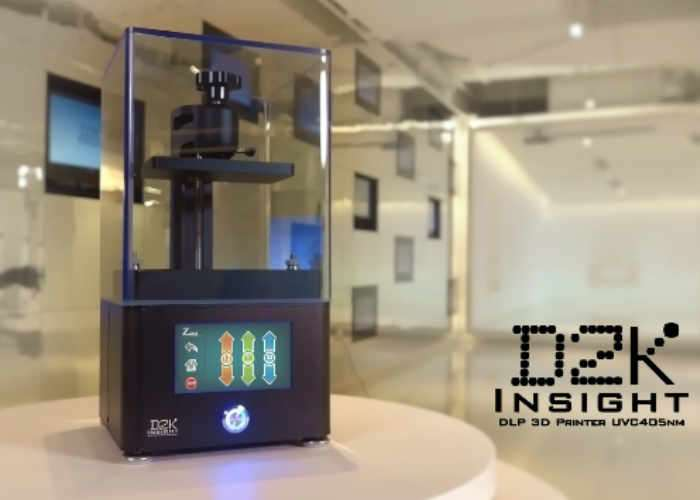 D2K Insight Advanced Consumer DLP 3D Printer