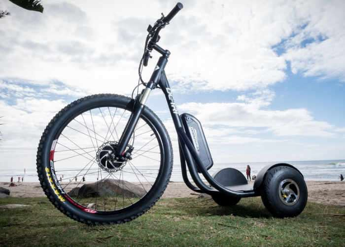 DC-Tri Stand-Up E-Bike
