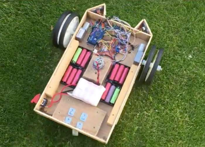 Diy Arduino Robot Lawnmower Video Geeky Gadgets