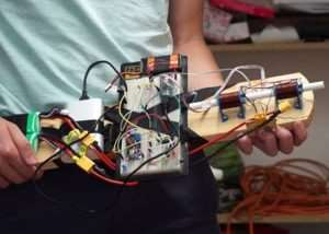DIY Coilgun Created Using Arduino Nano And Magnets (video)