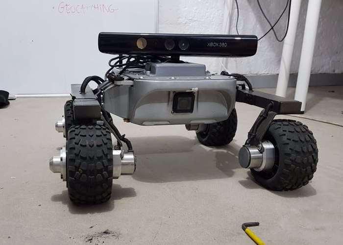 DIY Human-Following Robot Created Using Microsoft Kinect