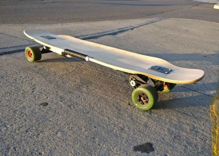 DIY Open Source Electric Longboard
