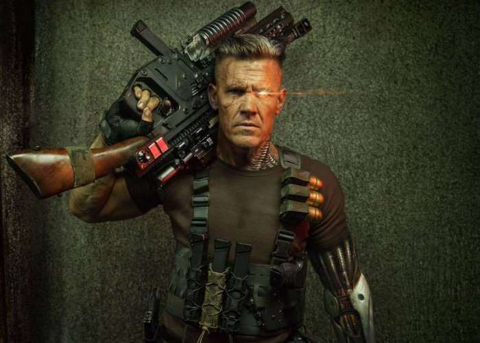 Josh Brolin's 'Cable' chills with little 'Deadpool' on sets of sequel