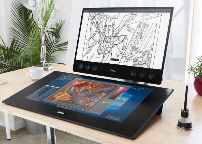 Dell Canvas 27 Touchscreen Workspace