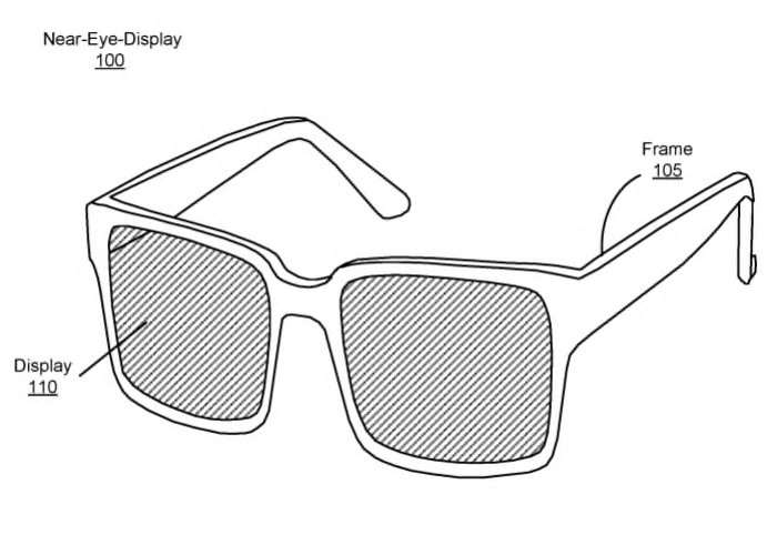 Facebook Oculus Augmented Reality Glasses Patent