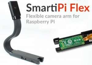SmartiPi Flex – Flexible Raspberry Pi Camera Module Mount (video)