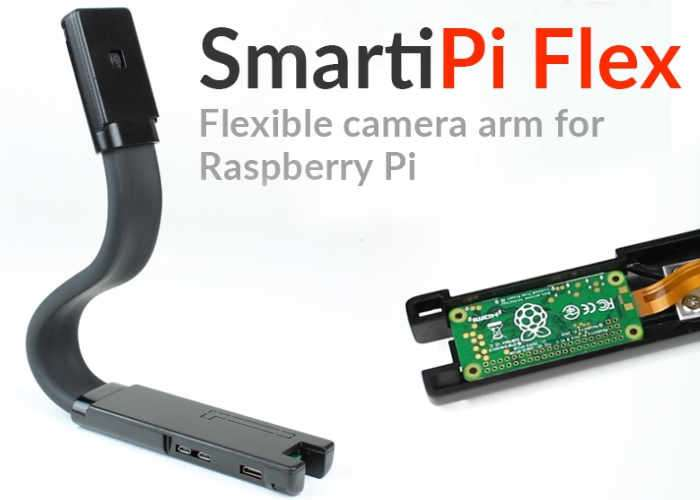 Flexible Raspberry Pi Camera Module Mount