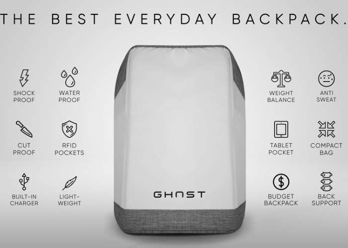 GHOST Everyday Backpack Hits Kickstarter