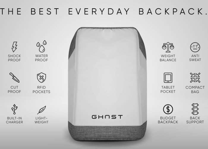 GHOST Everyday Backpack Hits Kickstarter