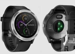 Garmin Vivoactive 3 Fitness Watch Leaked