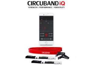 Circuband iQ Gym Resistance Band Fitted With NASA Grade Sensors (video)