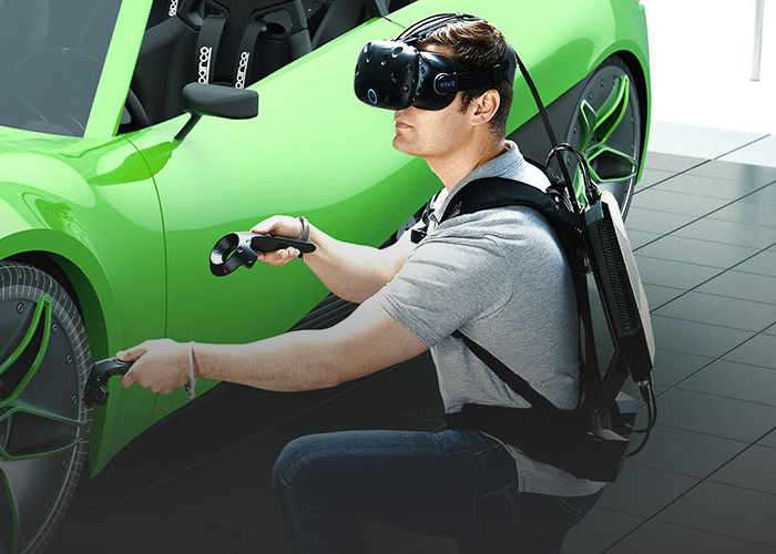 Htc Vive System Requirements >> HP Z VR Backpack Business Edition Wearable PC Unveiled ...
