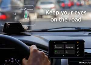 Hudway CAST In-Car Head-Up Display (HUD) From $179 (video)
