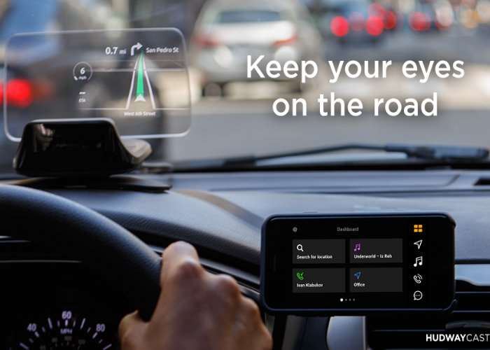 Hudway CAST In-Car Head-Up Display