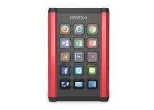 Infinitton Customisable Mini LCD Keyboard (video)