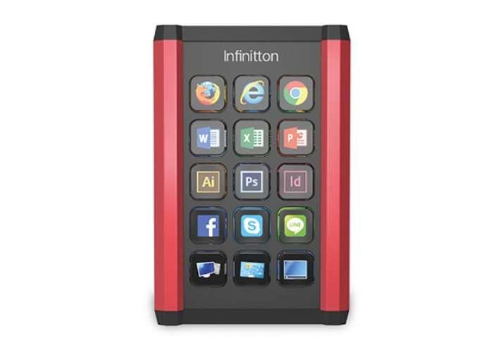 Infinitton Customisable Mini LCD Keyboard