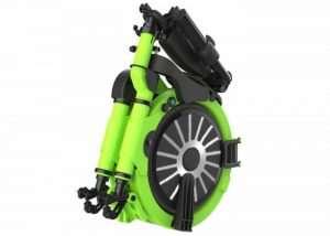 Ultra Lightweight Jupiter Electric Folding Bike (video)