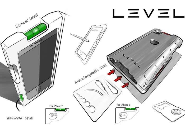Level Multi-Functional iPhone Case