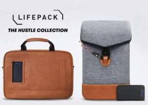 Lifepack Hustle Gadget Bags Offer Solar Charging And Anti-Theft Features (video)