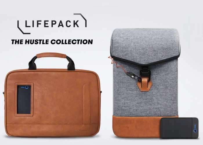Lifepack Hustle Gadget Bags