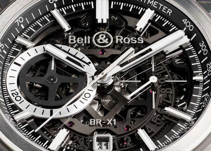 Limited Edition Bell & Ross BR-X1 Black Titanium Watch