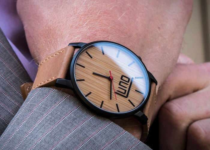 Luno 2 Minimalist Wooden Watch