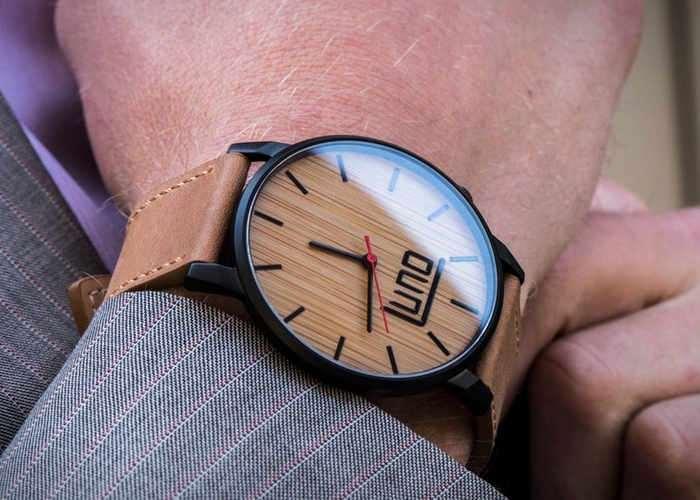 Luno 2 Minimalist Wooden Watch