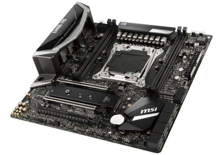 MSI X299M Gaming Pro Carbon AC Motherboard