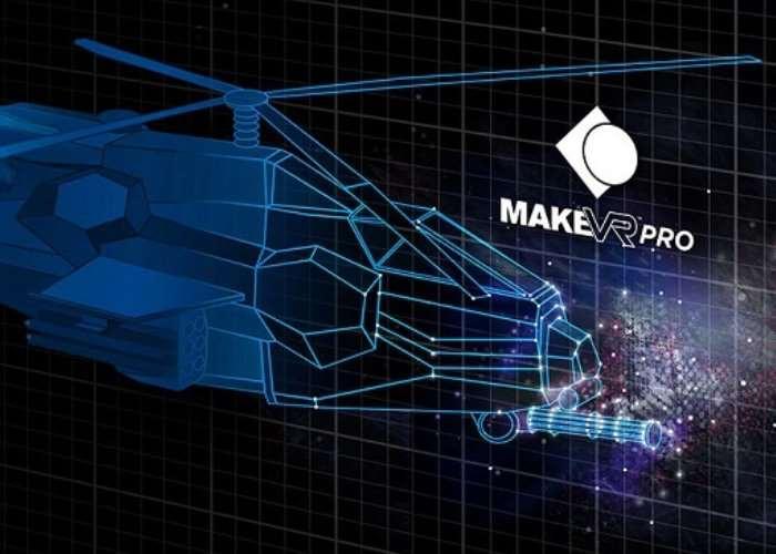 MakeVR Pro VR 3D Modeling Tools