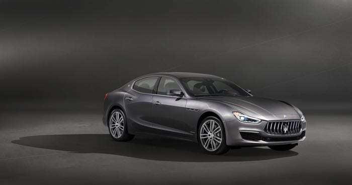 Maserati Ghibli facelift unveiled in new GranLusso trim