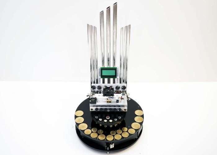 Motorgan Electromagnetic Organ (video) - Geeky Gadgets