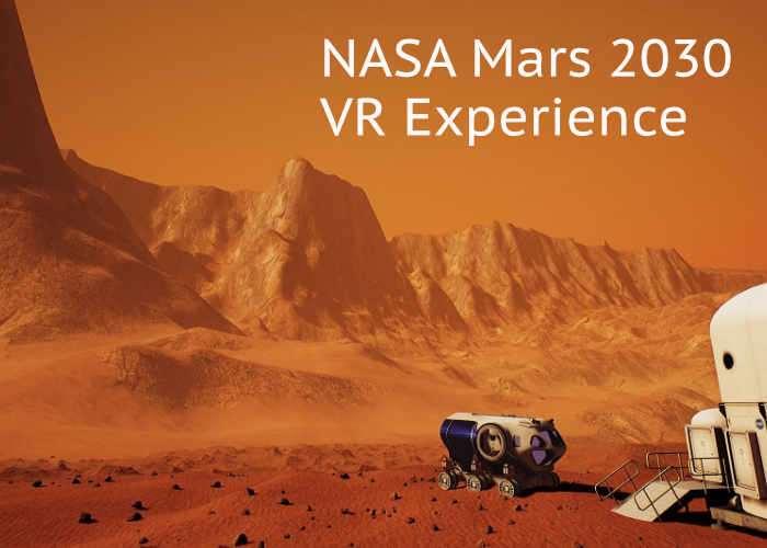 NASA Mars 2030 VR Experience