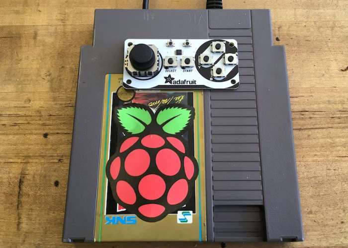 NES Cart Raspberry Pi RetroPie Game Console