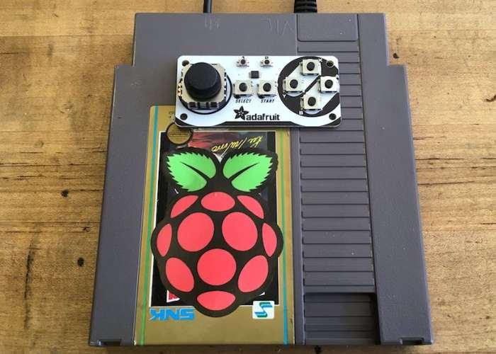 NES Cart Raspberry Pi RetroPie Game Console