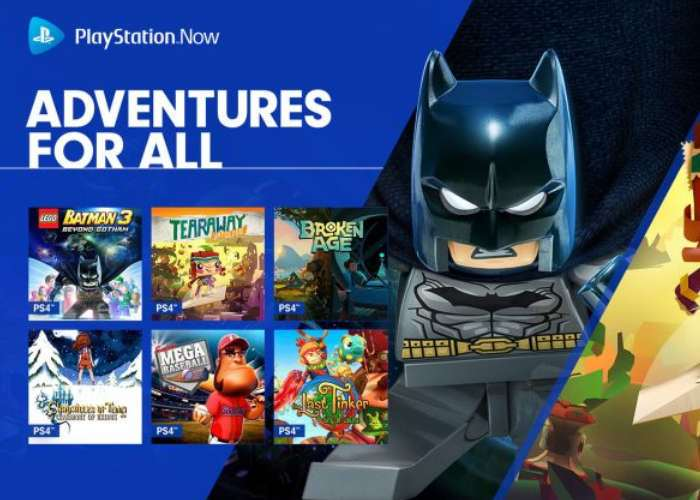 New PlayStation Now Games