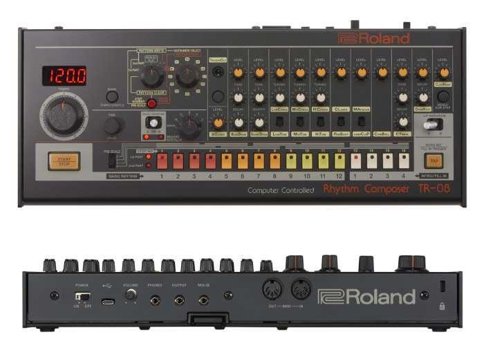 New Roland TR-808