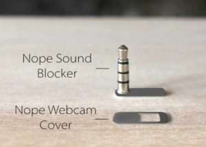 Nope Sound Blocker And Webcam Cover (video)