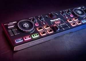 Numark DJ2GO2 Pocket DJ Controller With Audio Interface (video)