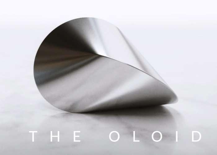 OLOID Mathematically Perfect Desktop Sculpture