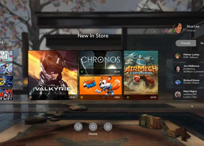 Oculus Rift update makes the headset more friendly for Steam use
