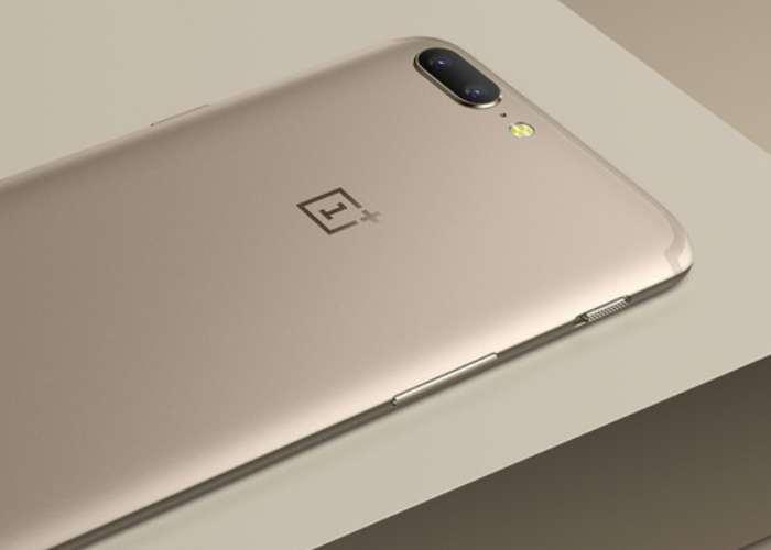 OnePlus 5 Soft Gold Finish Smartphone