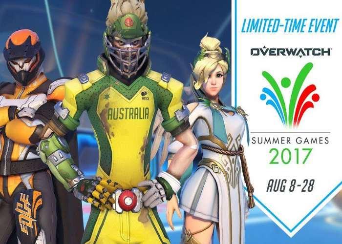 Overwatch Seasonal Event Summer Games 2017